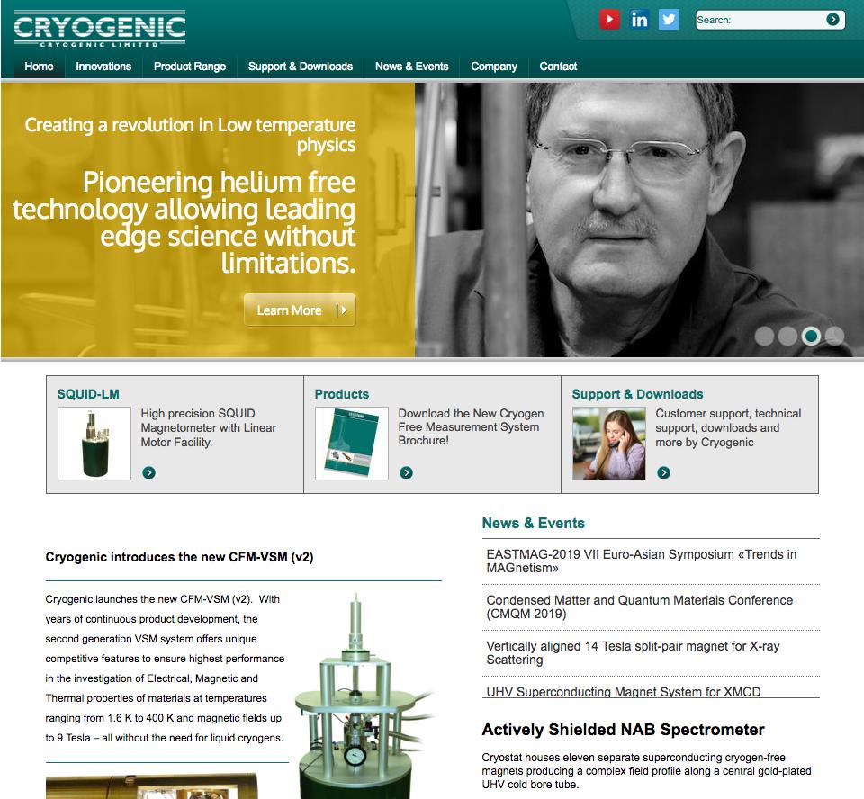 cryogenic Web Development